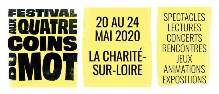 Les dates et le menu du Festival AUX QUATRE COINS DU MOT