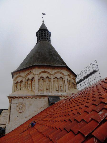 Restauration du transept nord © Marie Barthelet