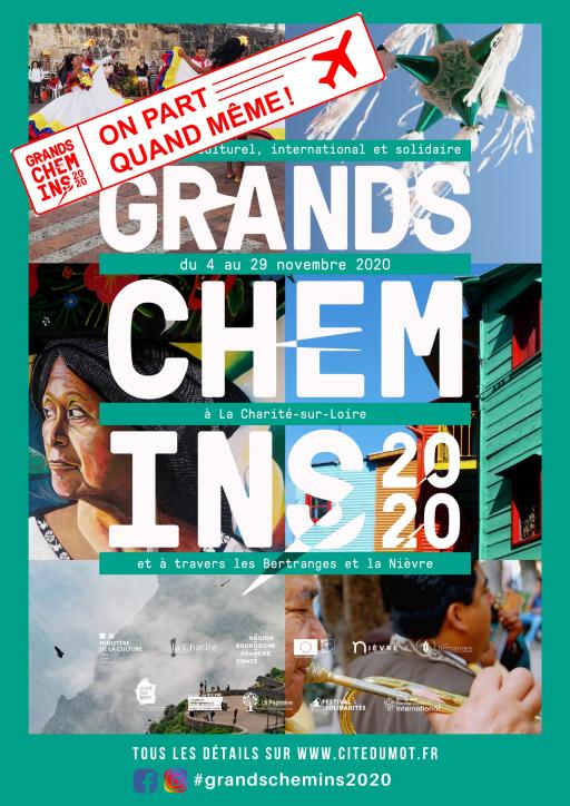 Tous les détails sur www.citedumot.fr #grandschemins2020