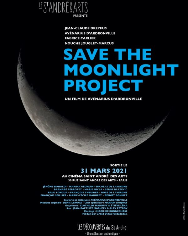 save the moonlight project affiche